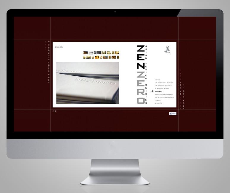Layout web Parma, Zenzero Asian Fusion