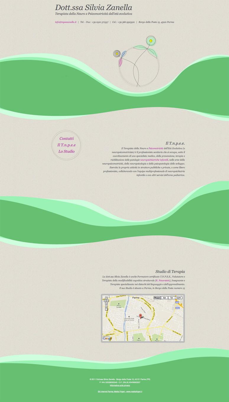 Creazione layout web, Studio Medico Zanella